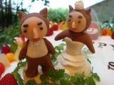 かわうそくんケーキ2